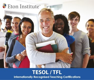 TESOL/TFL Certification: Intensive, Extended and Online Courses