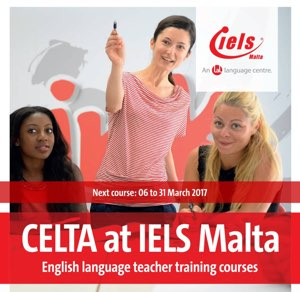 CELTA at IELS Malta - English Language Teacher Training Courses