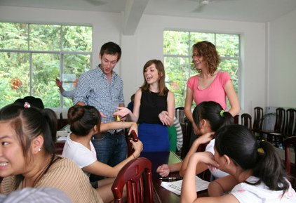 20 oral English teaching positions in China