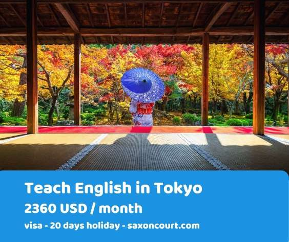 Wanted: English Teacher in Tokyo