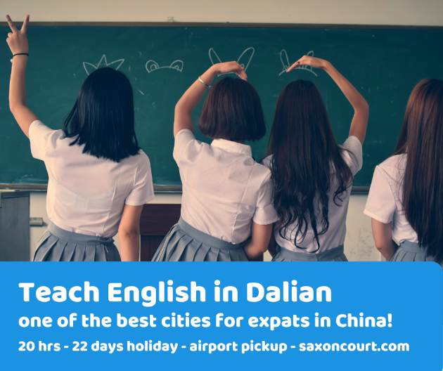 Teach English in one of the best expat cities in China, Dalian!