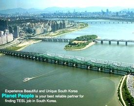 Teach English in South Korea with Planet People