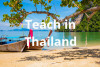 Thailand Teaching Jobs - May 2020 Starts - 35 Positions - Multiple Subjects