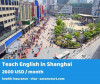 Teach English in a professional atmosphere in Shanghai
