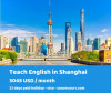 Teach English professionally in Shanghai