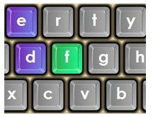 Online Keyboard Game for Learning to Type