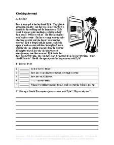 ESL Reading Worksheets